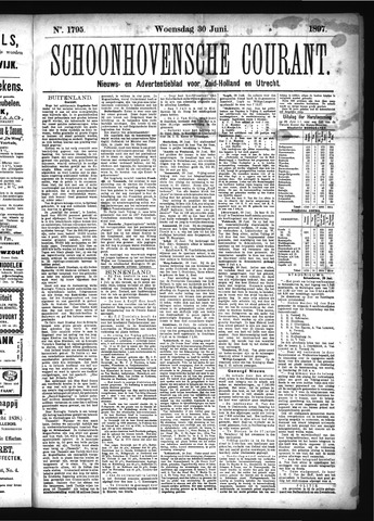 Schoonhovensche Courant 1897-06-30