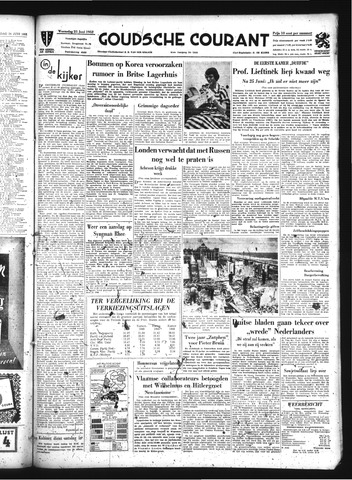Goudsche Courant 1952-06-25