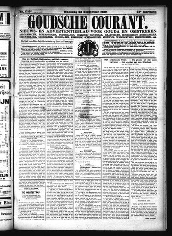 Goudsche Courant 1929-09-23