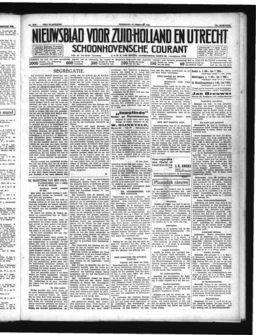 Schoonhovensche Courant 1939-02-15