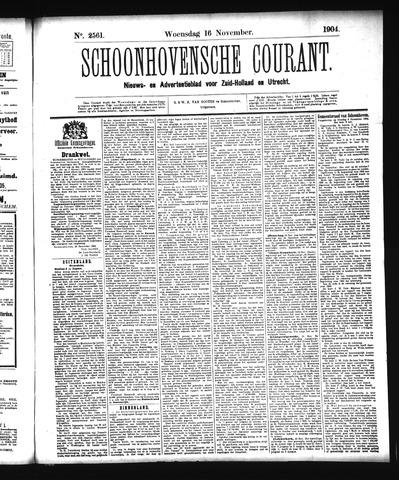 Schoonhovensche Courant 1904-11-16
