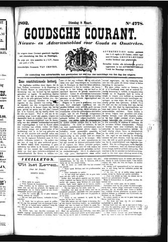 Goudsche Courant 1892-03-08