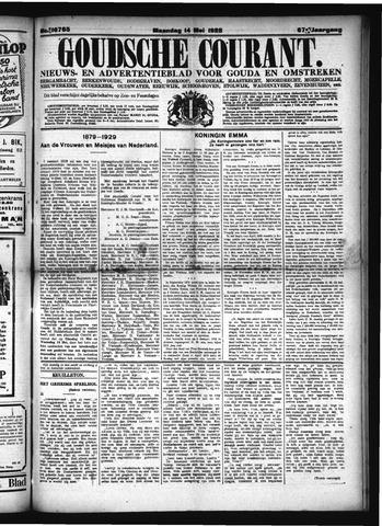 Goudsche Courant 1928-05-14