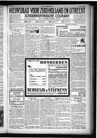 Schoonhovensche Courant 1931-11-27