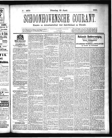 Schoonhovensche Courant 1918-06-25