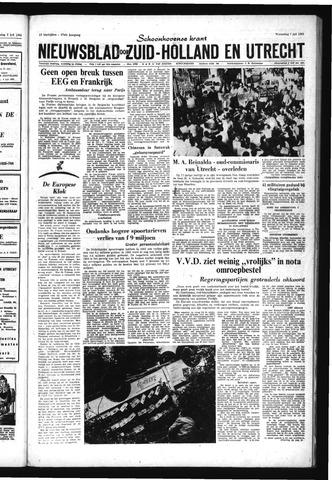 Schoonhovensche Courant 1965-07-07