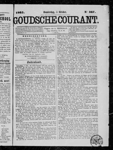 Goudsche Courant 1865-10-05