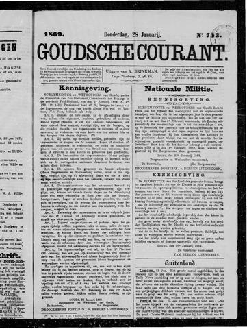 Goudsche Courant 1869-01-28