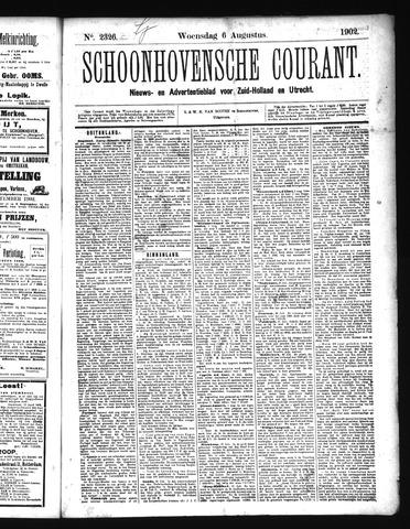 Schoonhovensche Courant 1902-08-06