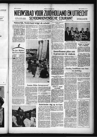 Schoonhovensche Courant 1958-08-22