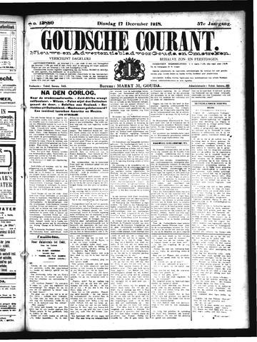 Goudsche Courant 1918-12-17