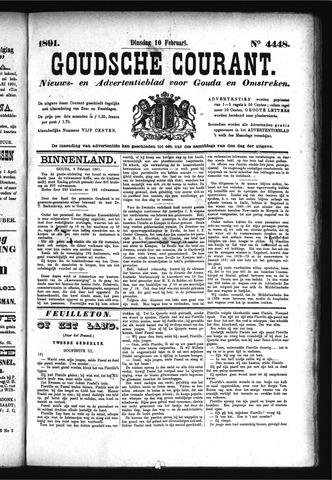 Goudsche Courant 1891-02-10
