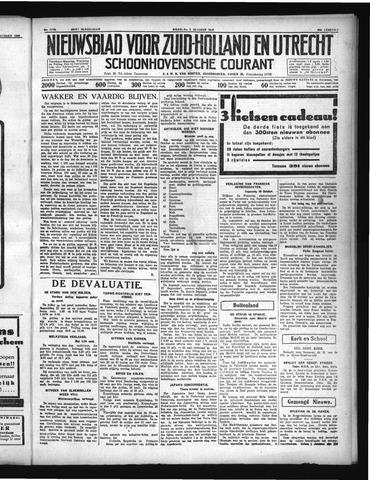 Schoonhovensche Courant 1936-10-05
