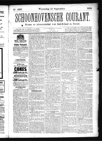 Schoonhovensche Courant 1910-09-14