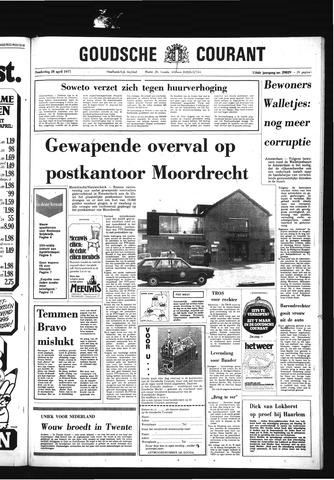 Goudsche Courant 1977-04-28