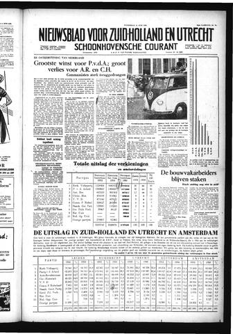 Schoonhovensche Courant 1956-06-14