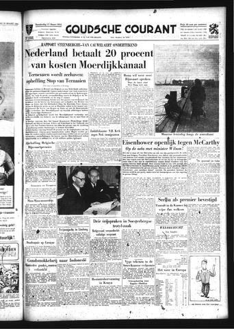 Goudsche Courant 1954-03-11