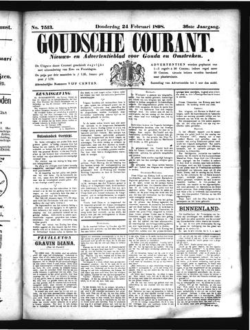 Goudsche Courant 1898-02-24