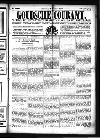 Goudsche Courant 1927-01-08