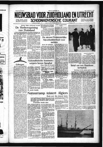 Schoonhovensche Courant 1954-09-10