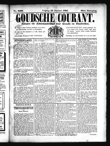 Goudsche Courant 1895-01-25