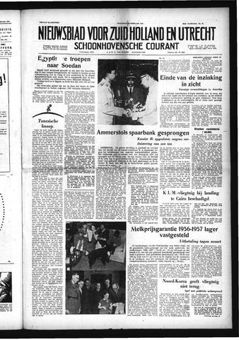 Schoonhovensche Courant 1958-02-19