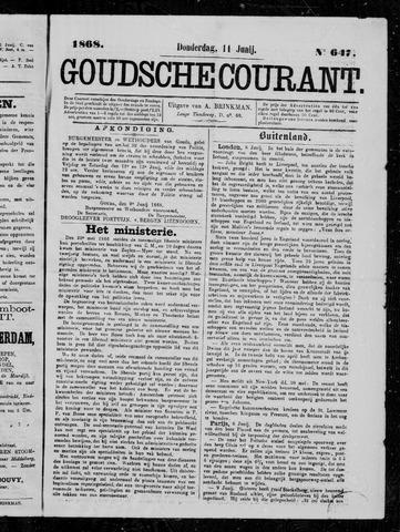 Goudsche Courant 1868-06-11
