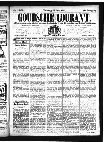 Goudsche Courant 1912-06-29