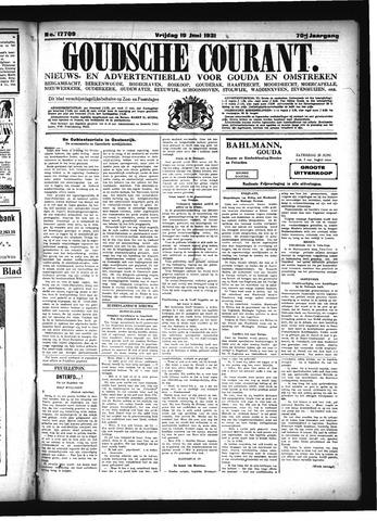 Goudsche Courant 1931-06-19