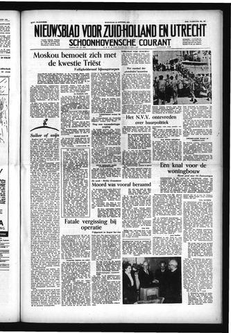 Schoonhovensche Courant 1953-10-14