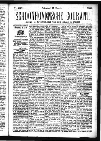Schoonhovensche Courant 1908-03-21