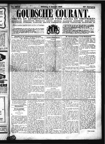 Goudsche Courant 1926-01-05