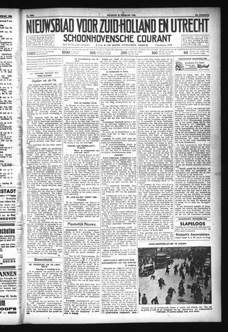 Schoonhovensche Courant 1932-02-29