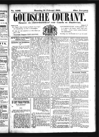 Goudsche Courant 1910-02-21