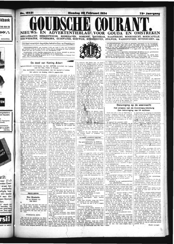 Goudsche Courant 1934-02-20