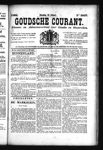 Goudsche Courant 1893-01-30