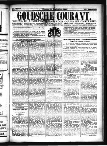 Goudsche Courant 1926-09-21