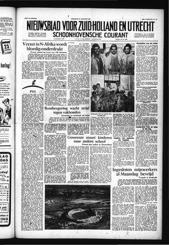 Schoonhovensche Courant 1955-08-24