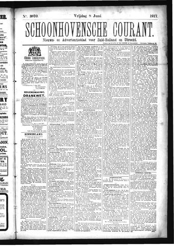 Schoonhovensche Courant 1917-06-08