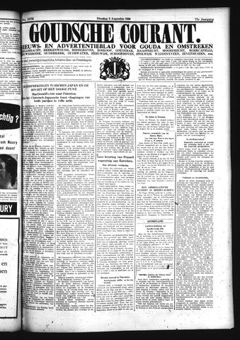 Goudsche Courant 1938-08-09