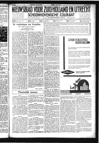 Schoonhovensche Courant 1934-04-06