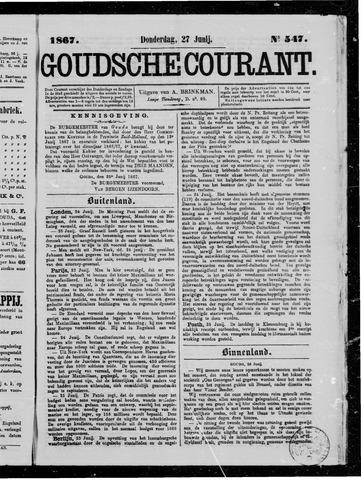 Goudsche Courant 1867-06-27