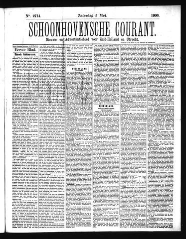 Schoonhovensche Courant 1906-05-05