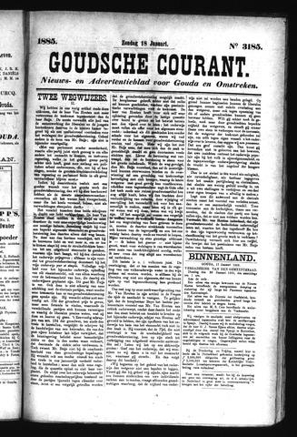 Goudsche Courant 1885-01-18