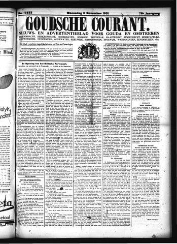Goudsche Courant 1931-11-11