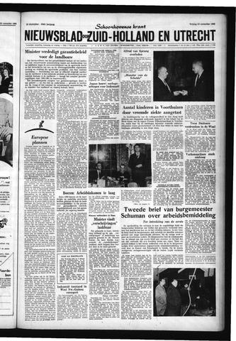 Schoonhovensche Courant 1960-11-25