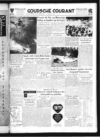 Goudsche Courant 1958-09-27