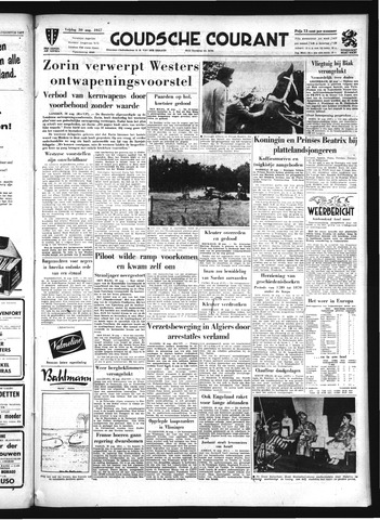 Goudsche Courant 1957-08-30