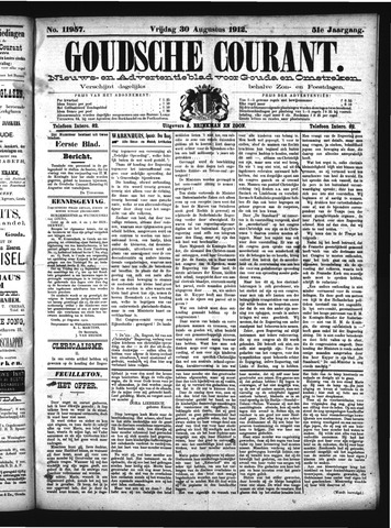 Goudsche Courant 1912-08-30