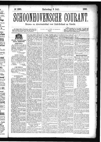 Schoonhovensche Courant 1893-07-08